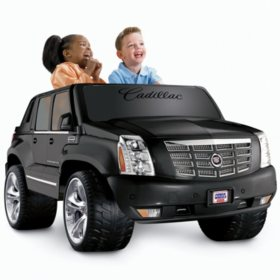 Power Wheels Cadillac Escalade >> 12v Power Wheels Cadillac Escalade Ext Sam S Club