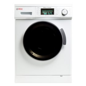 Galaxy 13 lb. Convertible Washer/Dryer Combo - GX4000CV - WHITE