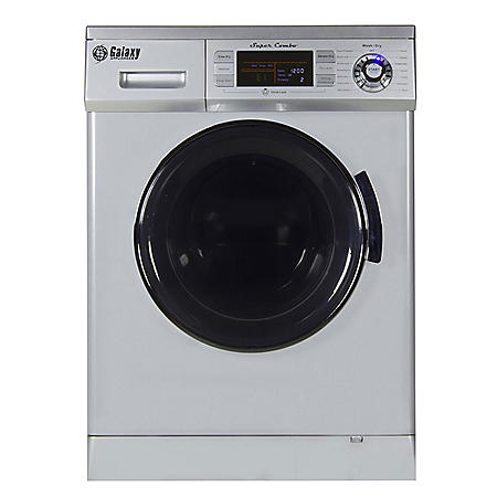 All-In-One Washer and Dryer Combo, Silver - GX4400CV