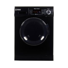 All-In-One Washer and Dryer Combo, Black - GX4400CV