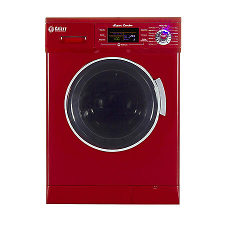 All-In-One Washer and Dryer Combo, Merlot - GX4400CV