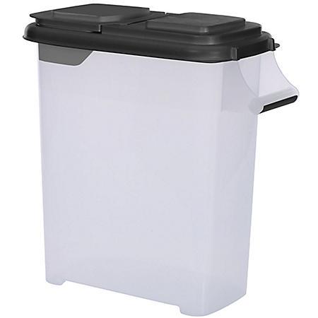 Buddeez Food Storage and Dispenser, Black (32 qt.)