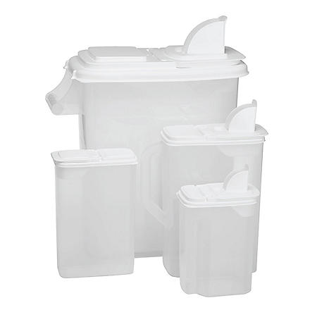 8-Piece Food and Cereal Storage Set