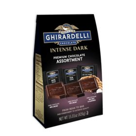Ghirardelli Intense Dark Premium Chocolate Assortment (15.01 oz.)