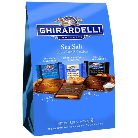 Ghirardelli Sea Salt Chocolate Selection - 15.7 oz.