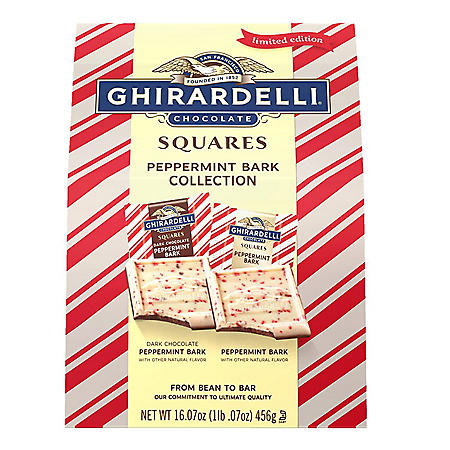 Ghirardelli Peppermint Bark Chocolate Collection (16.7oz.)