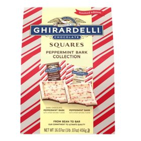 Ghirardelli Peppermint Bark Chocolate Collection (16.7 oz.)