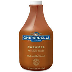Ghirardelli Caramel Sauce Bottle (90.4 oz.)
