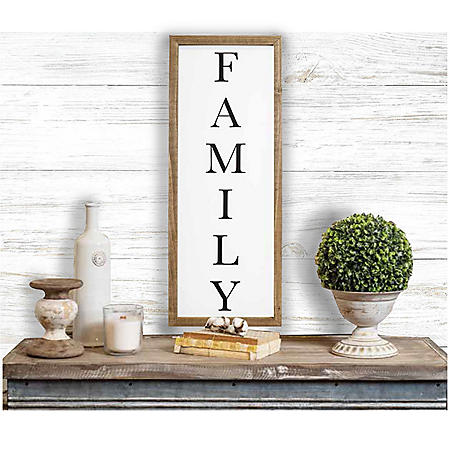 "36"" Farmhouse Wall Sign (Various Sayings)"