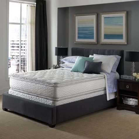 Serta Perfect Sleeper Concierge Suite II Pillowtop Mattress Set (Various Packs and Quantities)