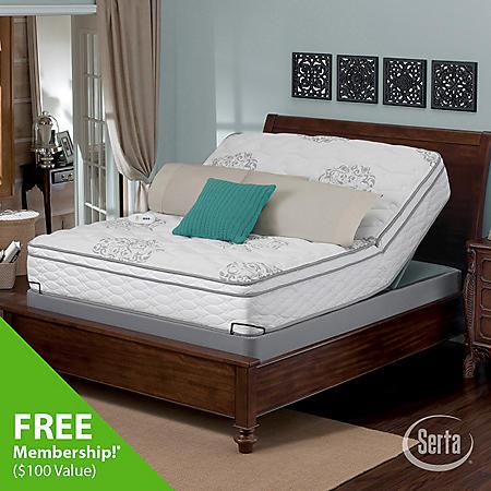 Serta Perfect Sleeper Wynstone Cushion Firm Eurotop Mattress And
