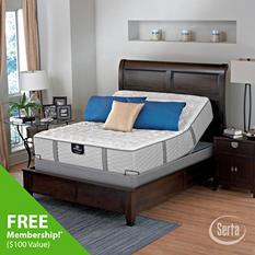 Serta Perfect Sleeper Oakbridge Luxury Firm Mattress and Adjustable Foundation Set (Various Sizes)