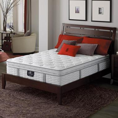 Serta Perfect Sleeper Ridgemont Luxury Super Pillowtop Mattress Club Pickup Sam S Club