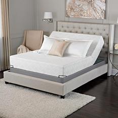 "Serta Sleep Excellence Avesta 10"" Memory Foam Mattress and Adjustable Foundation Set (Various Sizes)"