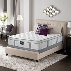 Serta Perfect Sleeper Misthaven Plush Mega Eurotop King Mattress Set