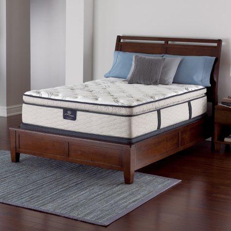 Serta Perfect Sleeper Castleview Cushion Firm Pillowtop Queen Mattress Set