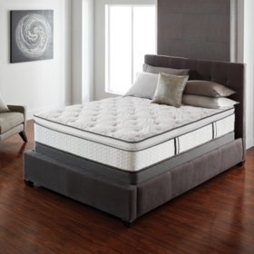 Serta Lux Suite Pillowtop King Mattress Set