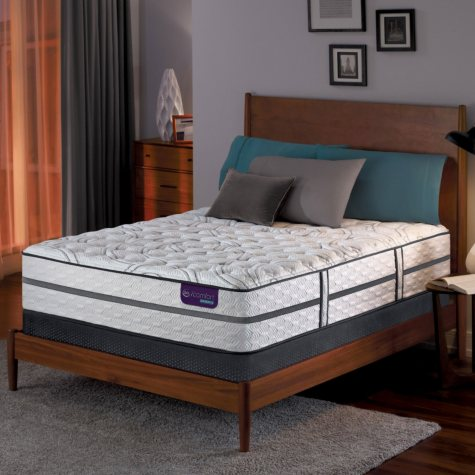 Serta iComfort Hybrid Vantage II Firm Queen Mattress Set