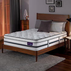 Serta iComfort Hybrid Merit II Super Pillowtop King Low-Profile Mattress Set