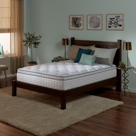 Save $100 on Serta Perfect Sleeper Wynstone II Cushion Firm Eurotop Queen Mattress