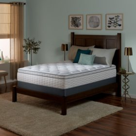 Serta Perfect Sleeper Wynstone II Cushion Firm Eurotop Queen Mattress Set