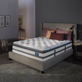 Serta Perfect Sleeper Luxury Hybrid Glenmoor Firm Pillow Top Queen Mattress