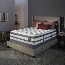 Serta Perfect Sleeper Luxury Hybrid Glenmoor Super Pillowtop Queen Mattress Set