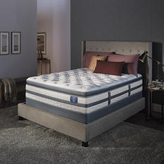 Serta Perfect Sleeper Luxury Hybrid Glenmoor Super Pillowtop Twin Mattress Set