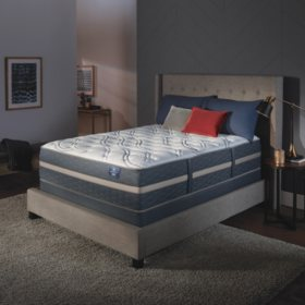 Serta Perfect Sleeper Luxury Hybrid Blakefield Plush King Mattress Set