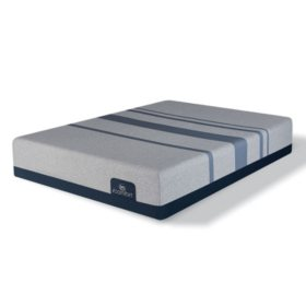 51ec6c706f3 Serta iComfort Blue Max 1000 Plush Gel Memory Foam King Mattress