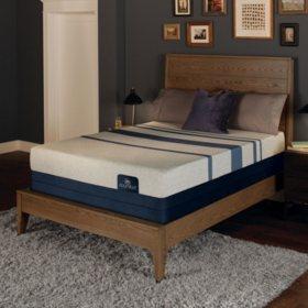 Serta iComfort Blue 500 Plush Gel Memory Foam Twin XL Mattress Set