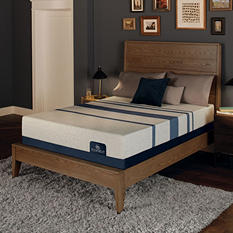 Serta iComfort Blue 100 Gentle Firm Gel Memory Foam Queen Mattress Set