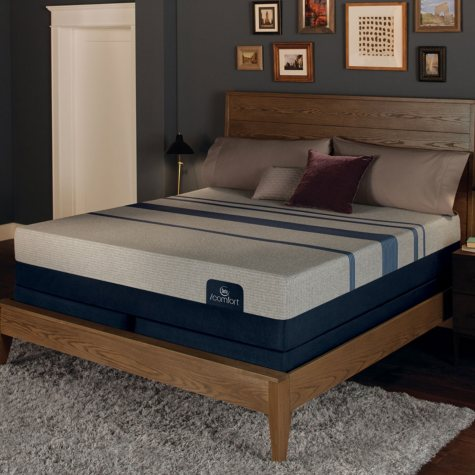 Serta iComfort Blue Max 5000 Elite Luxury Firm Gel Memory Foam Queen Mattress Set