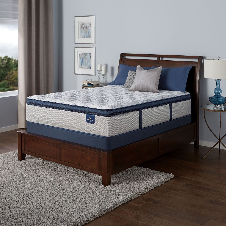 Serta Perfect Sleeper Danesmoor Plush Super Pillowtop Mattresses And