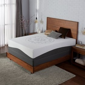 Serta Ultra Luxury Hybrid Shoreway Firm Mattress Queen Set