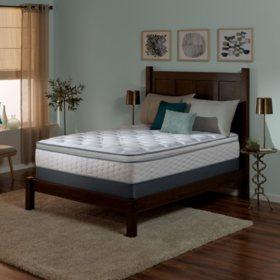 Serta Perfect Sleeper Wynstone II Super Pillowtop Queen Mattress Set
