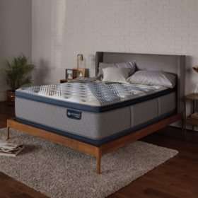 Serta iComfort Blue Fusion 4000 Plush Pillowtop Hybrid Twin XL Mattress Set