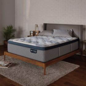 Serta iComfort Blue Fusion 300 Plush Pillowtop Hybrid Queen Mattress