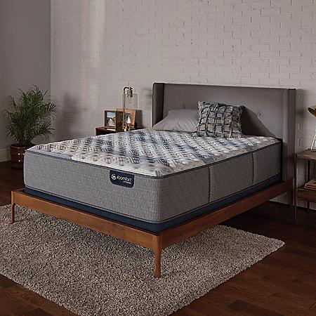 Serta iComfort Blue Fusion 100 Firm Hybrid King Mattress Set