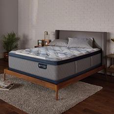Serta iComfort Blue Fusion 300 Plush Pillowtop Hybrid King Mattress Set