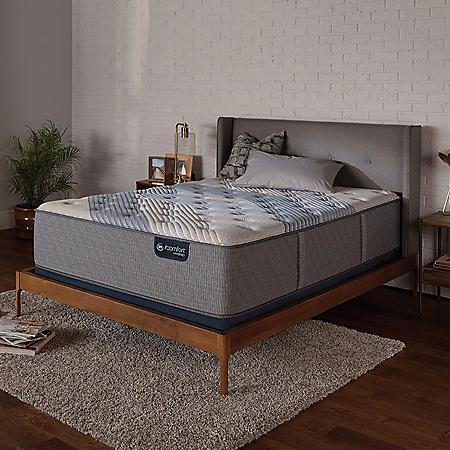 Serta iComfort Blue Fusion 1000 Luxury Firm Hybrid Full Mattress Set