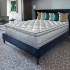 Perfect Sleeper Presidential Suite II Euro Pillowtop Mattress Set (Various Sizes)