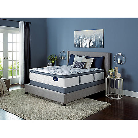 Serta Kerrington Cushion Firm Pillowtop California King Mattress Set