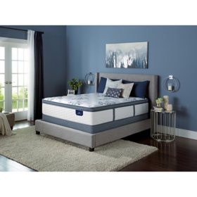 Serta Kerrington Cushion Firm Pillowtop Queen Mattress Set