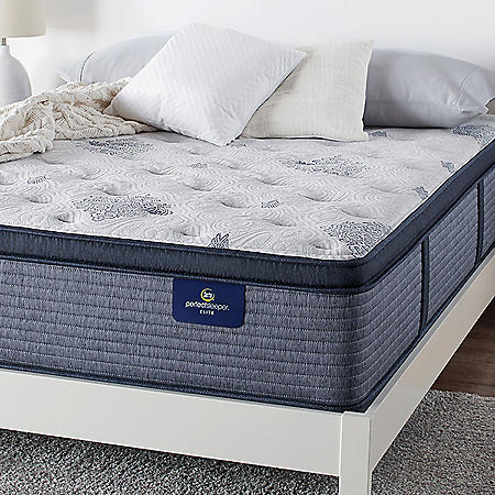 Serta Perfect Sleeper Elite Eldenwood Plush Pillowtop King Mattress Set