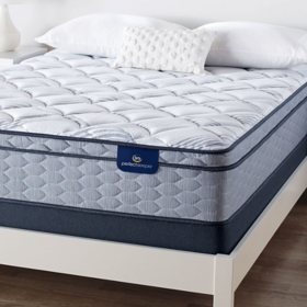 Serta Perfect Sleeper Ashbrook Eurotop Plush Queen Mattress Set