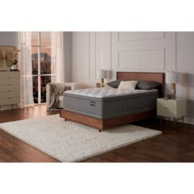 Serta Masterpiece William Firm Eurotop California King Mattress Set