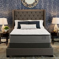 Serta Bellagio at Home Full Cushion Firm Pillowtop Mattress Set Deals