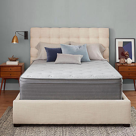 "Serta SleepToGo Hybrid 14"" Euro Top Queen Mattress"