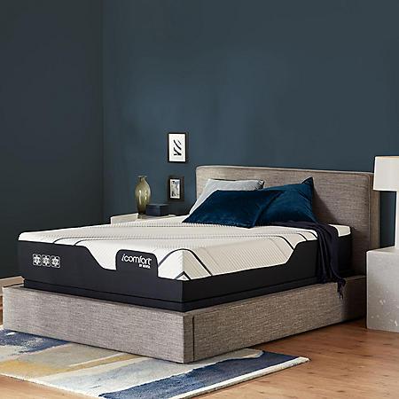 iComfort by Serta CF4000 Plush King Mattress Set